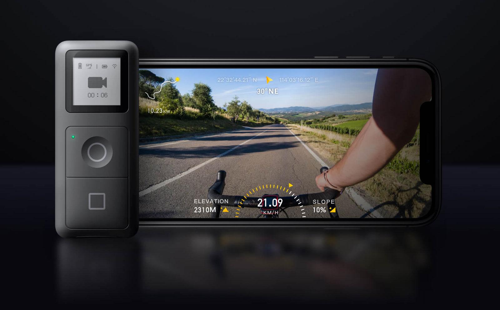 Insta360 ONE X GPS